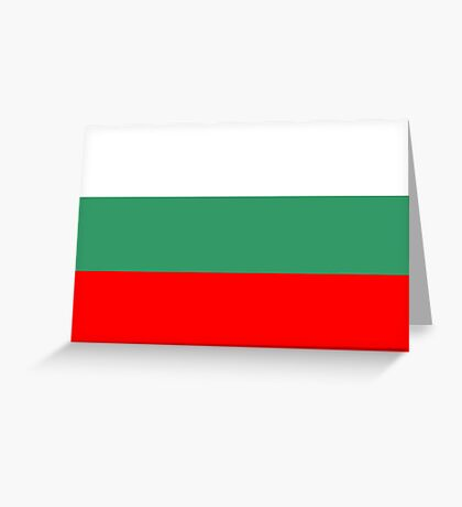 Bulgaria, national id Greeting Card
