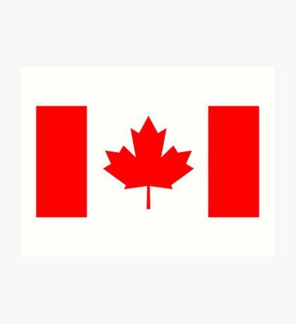 Canada, national id Art Print