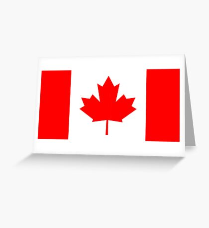 Canada, national id Greeting Card