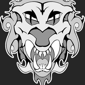 Leo Zodiac Horoscope Lion July August Graphic by masliankaStepan