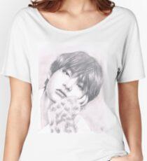 Camiseta ancha BTS - Taehyung fanart
