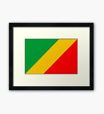 Congo, national id Framed Print