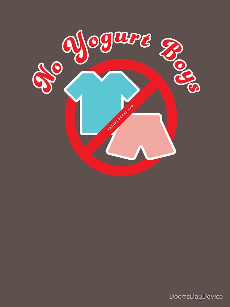 No Yogurt Boys by DoomsDayDevice