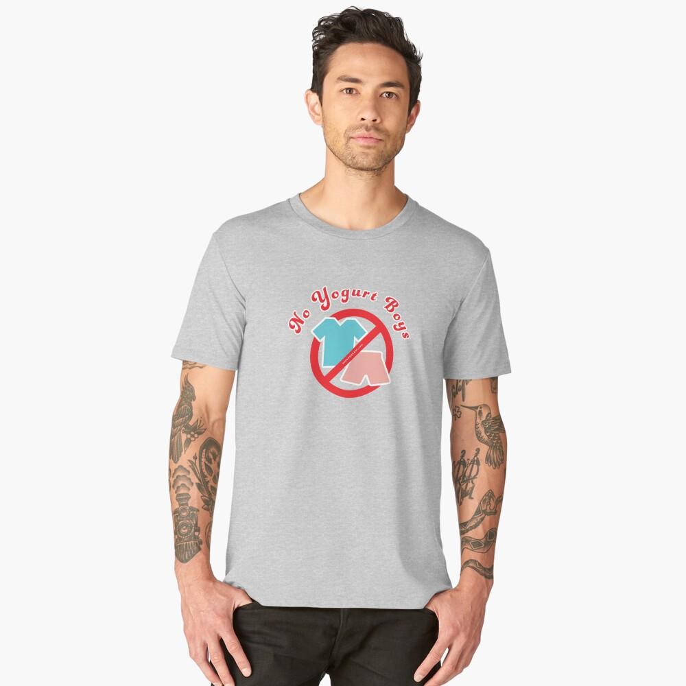 No Yogurt Boys Men's Premium T-Shirt Front