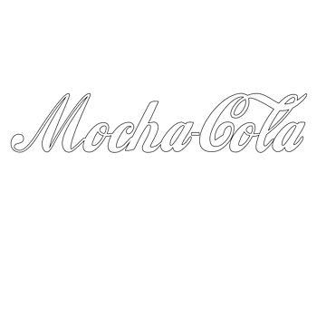 Mocha-Cola - White by chrisisreed