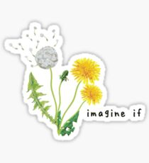 Gnash - Imagine If Logo Sticker