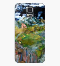 The Folly and the Moon Case/Skin for Samsung Galaxy