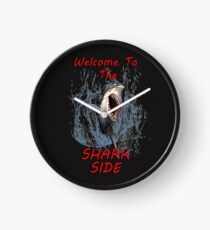 Graphic Design: Great White Shark Design, Welcome To The Dark Side Clock