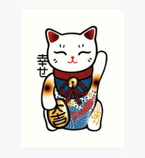 Maneki T-Shirt Art Print