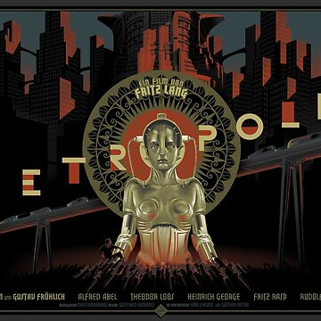 METROPOLIS by Fritz Lang  by tessdurberville