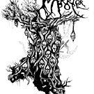 Warrior Pope Tree Top Logo by WarriorPope