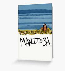 Manitoba Greeting Card
