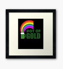 Pot Of Gold Framed Print
