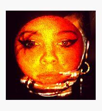 orange peel daze Photographic Print