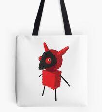 Devilish Piñatamon Tote Bag