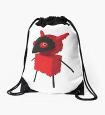 Devilish Piñatamon Drawstring Bag