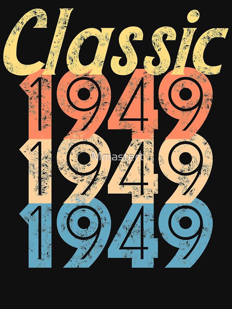 Vintage RETRO 1949 birthday by Mmastert