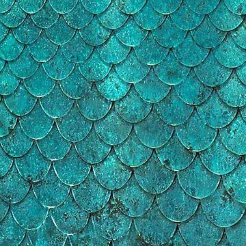 Mermaid Scales by noellelucia