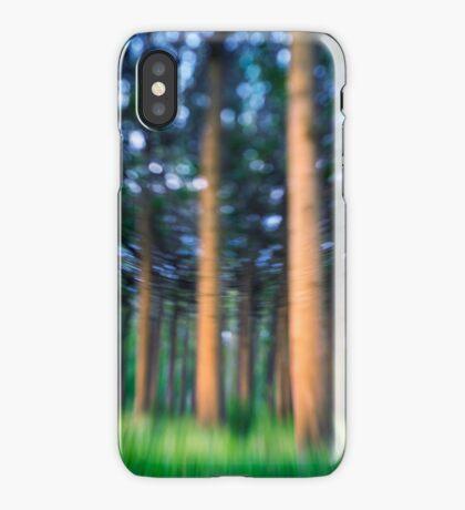 ~ the blue confetti forest ~ iPhone Case/Skin