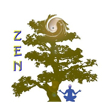Zen Meditation - Be a Zen Master and gain the clarity Buddhist monks and the Japanese have known for centuries by designblue