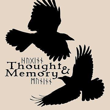 Thought & Memory by amandamakepeace