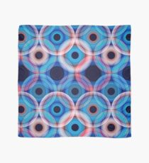 Circles   Blue and soft pink  Scarf