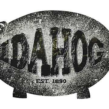 Idaho Idahog Swag and Merch by JohnOdz