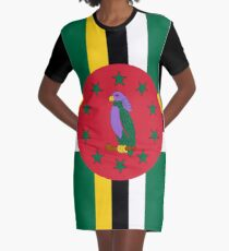 Commonwealth of Dominica Graphic T-Shirt Dress