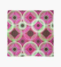 Circles   pink and green  Scarf