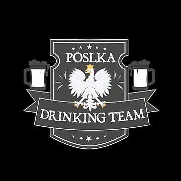 Polska Beer Drinking Team by stuch75