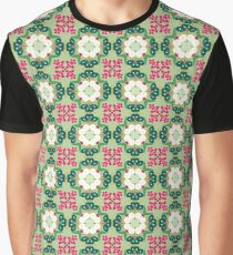 plant chiku conventional japan seamless colorful repeat pattern Graphic T-Shirt