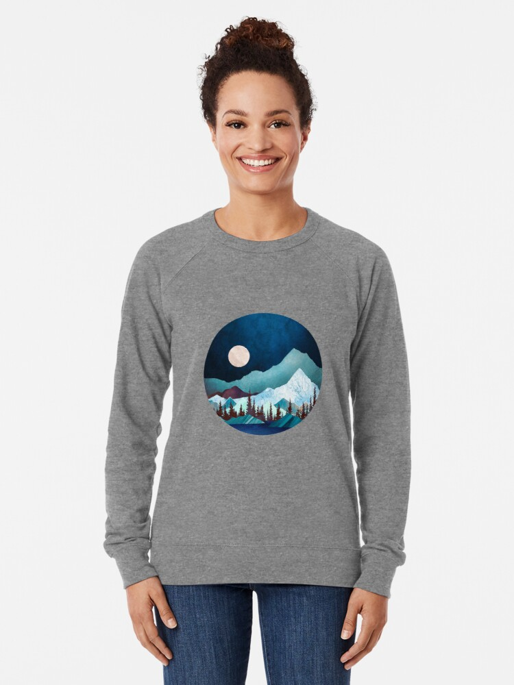 Alternate view of Moon Bay Lightweight Sweatshirt