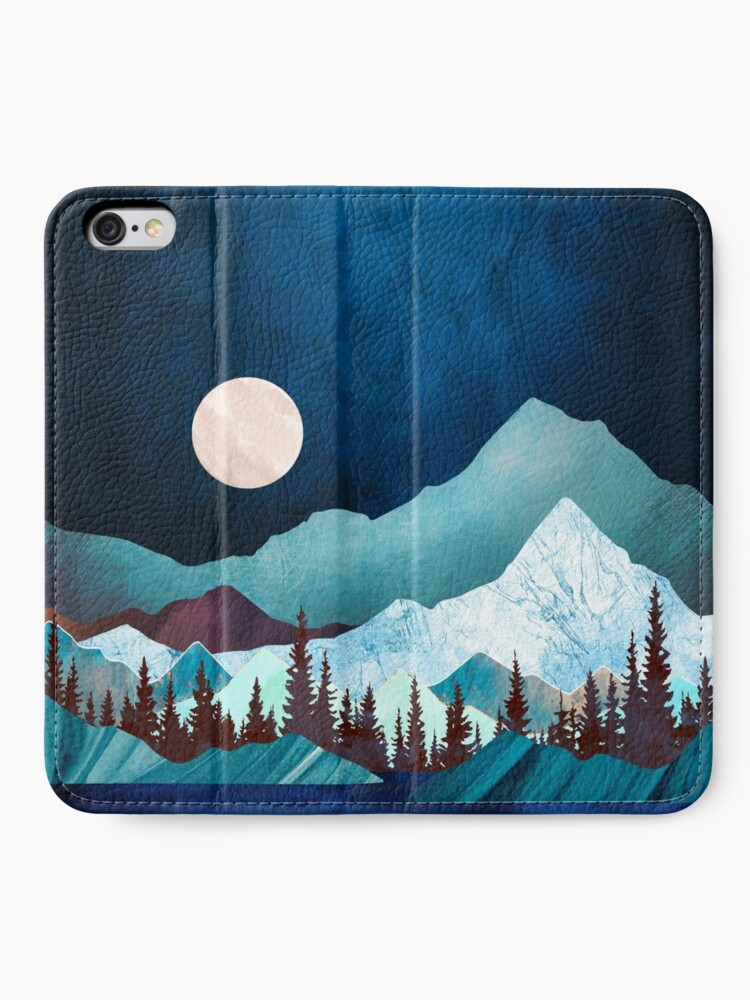 Alternate view of Moon Bay iPhone Wallet