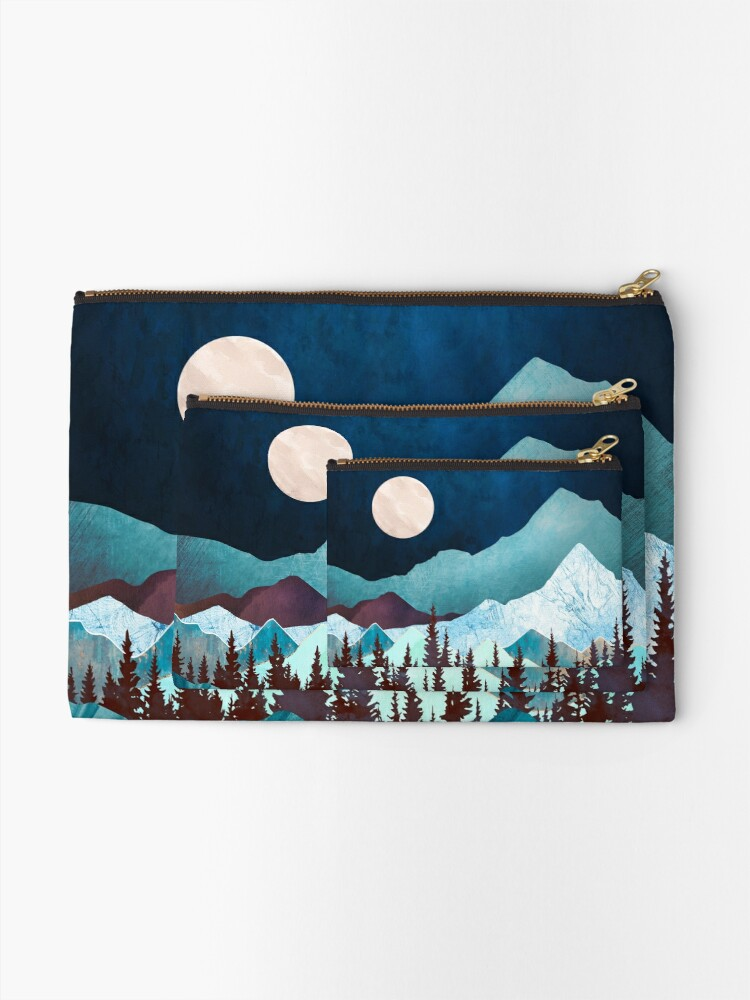Alternate view of Moon Bay Zipper Pouch