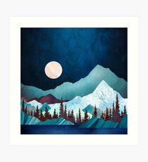Moon Bay Art Print