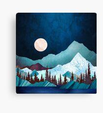 Moon Bay Canvas Print