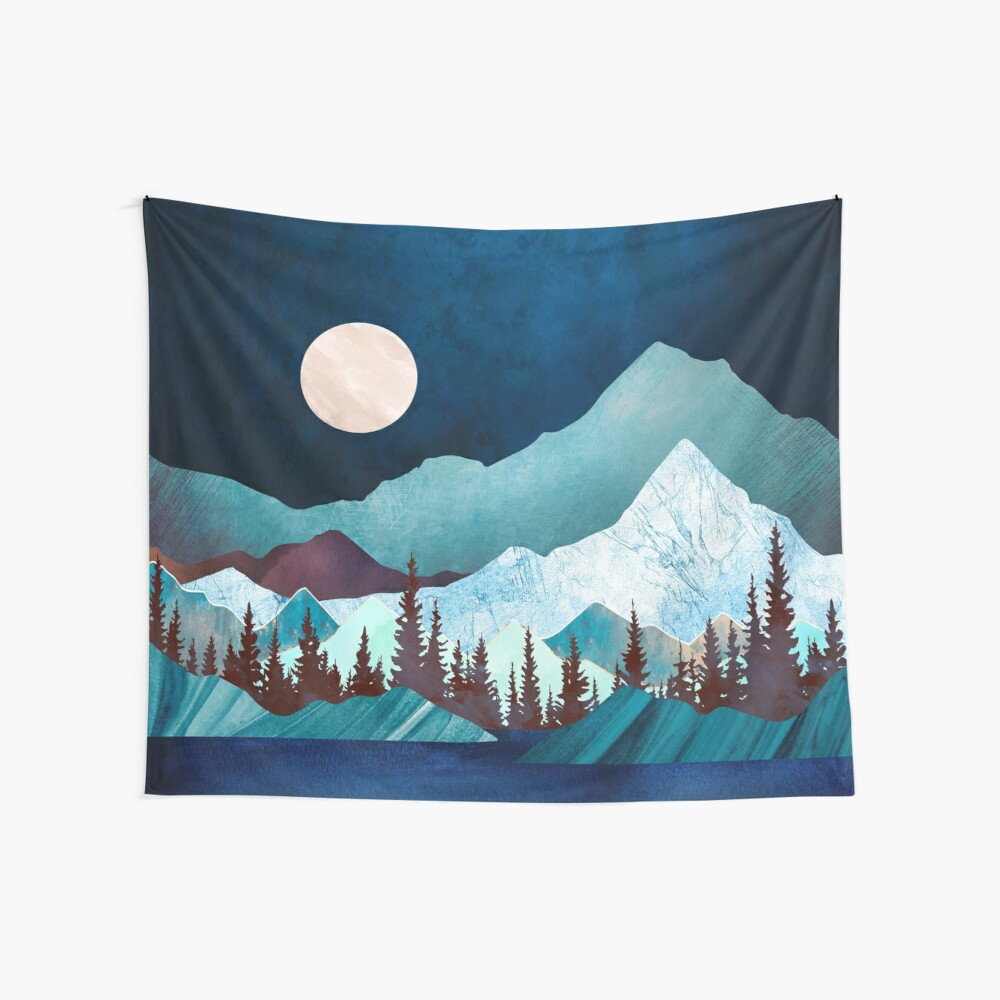 Moon Bay Wall Tapestry