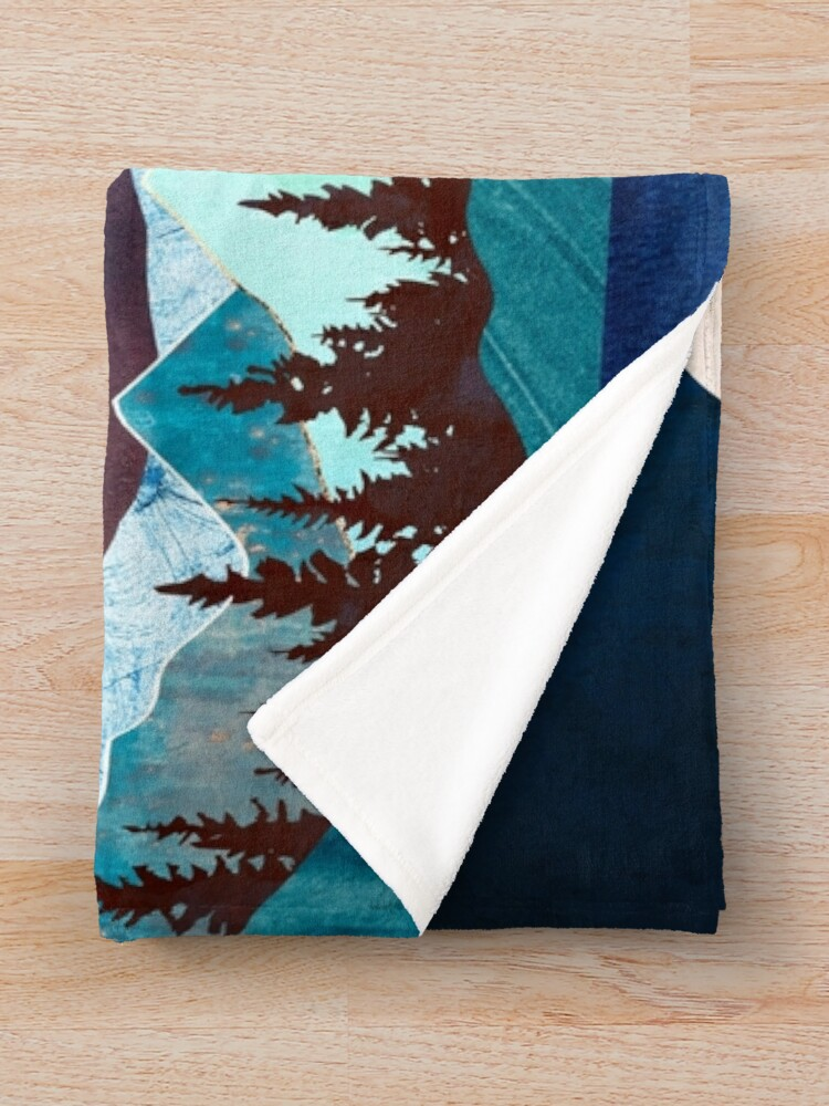 Alternate view of Moon Bay Throw Blanket