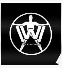 Westworld Host (White) Poster