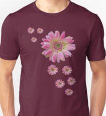 Floating Gerbera Unisex T-Shirt
