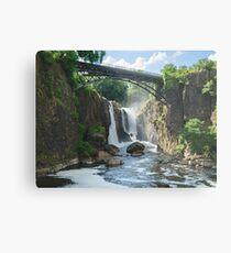 Paterson Falls, New Jersey Metal Print