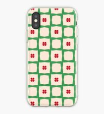 new year's day happy new year happiness seamless colorful repeat pattern iPhone Case