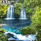 Glacier Waterfall by Ryan + Corinne Priest