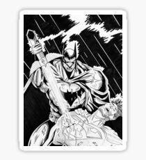 BATMAN VS SUPERMAN Sticker