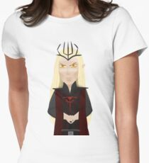 Sauron doodle Women's Fitted T-Shirt