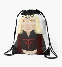 Sauron doodle Drawstring Bag