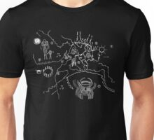 Twin Peaks Owl Cave Map Petroglyph Unisex T-Shirt