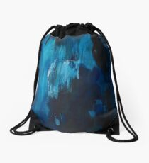 Shawdows of Curiosity Drawstring Bag