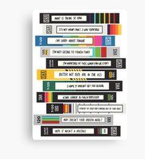 Brooklyn Nine-Nine Sex Tapes Canvas Print