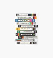 Brooklyn Nine-Nine Sex Tapes Art Board